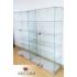 Примеры исполнения стеклянных шкафов-витрин