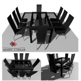 "Стол трансформер  ""Верона"" 1100х700/1400 мм"